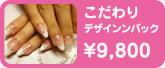 こだわりデザインパック ¥9,800